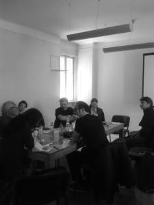 EURODRAM-Mitglieder bei der Arbeit im