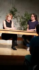 Stefanie Gottfried im Gespräch mit Sabine Heymann. © W. Barth